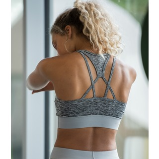 AWDis Girlie Cross Back Crop Top