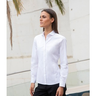 Henbury Ladies L/S Stretch Shirt