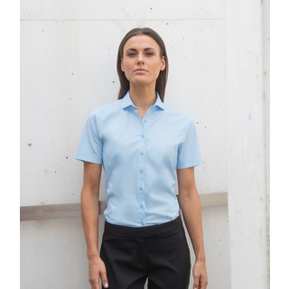 Henbury Ladies S/S Stretch Shirt