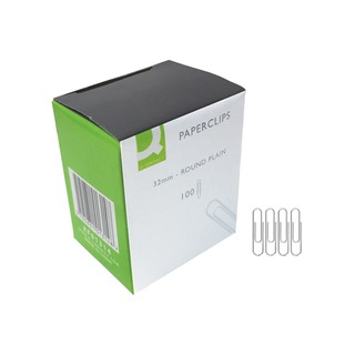 32mm Plain Paperclip (1000 Pack)