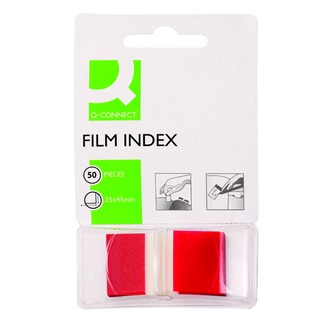 Red 1 Inch Page Marker (50 Pack)