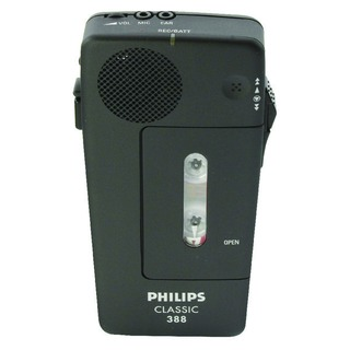 Black Pocket Memo Voice Activated Dictation Recorder LFH0388