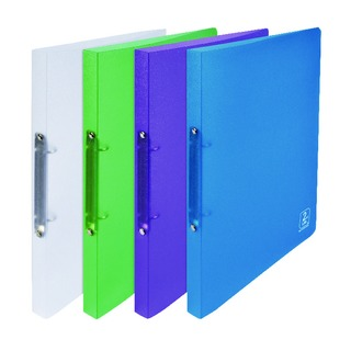 2nd Life Polypropylene A4 Ring Binder Assorted 400084984