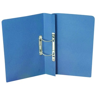 Blue Foolscap Heavyweight Spiral File (25 Pack) 211/7