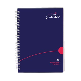 Graffico Twin Wire Board Cover A5 Notebook 160 Pages 500-05