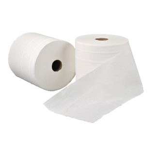 1-Ply White Hand Towel Roll (6 Pack) RTW200DS