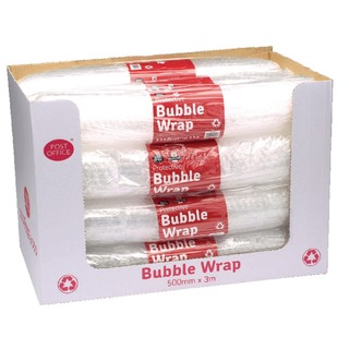 pak Clear Bubble Wrap 500mmx3m (12 Pack) 37749