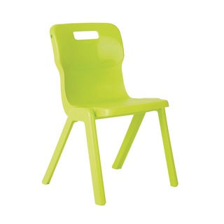 1 Piece 380mm Lime Chair (30 Pack)