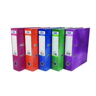 Elba A4 Lever Arch Files Assorted Colours (10 Pack) 100082301