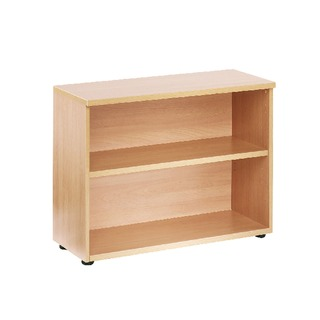 730mm Bookcase 1 Shelf Oak