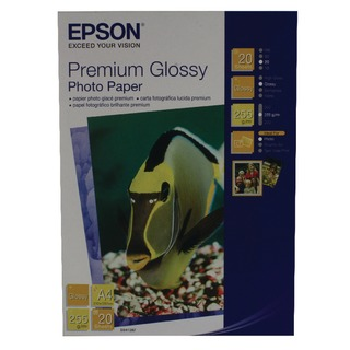 Premium Glossy A4 Photo Paper (20 Pack) C13S0