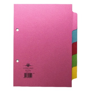 A5 5-Part Subject Divider 70599/