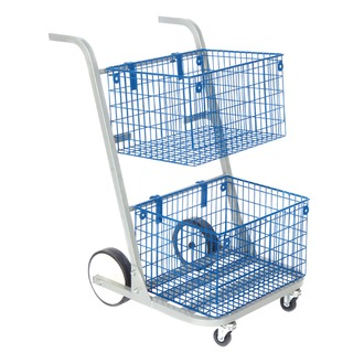 Silver Major Mail Trolley MT2SIL