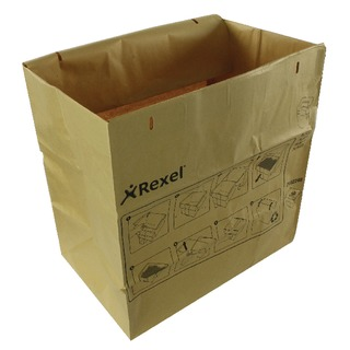 Brown Recyclable Paper Shredder Bags (50 Pack) 2102248