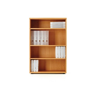 1200mm Bookcase Beech