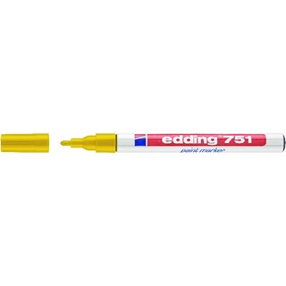 751 Fine Bullet Tip Yellow Paint Marker (10 Pack) 751-005