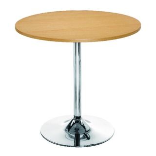 Beech Small Bistro Trumpet Table