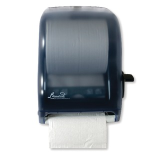 Lever Control Blue Hand Towel Roll Dispenser DSRA12