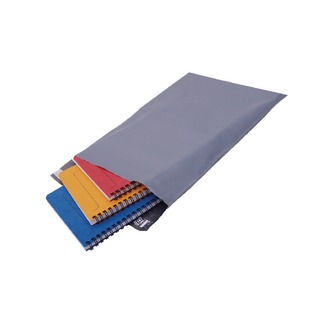 Polythene Mailing Bag Opaque Grey 235 x 320mm (500 Pack)