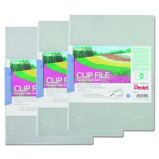 Recycology Clip A4 File Blue Clear Display Book (10 Pack) DCB14C