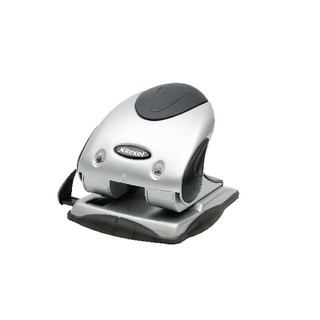 Precision P240 2 Hole Punch Black and Silver 40 Sheet 2100748