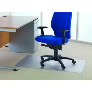 Value Chairmat For Carpet 1200x750mm Clear