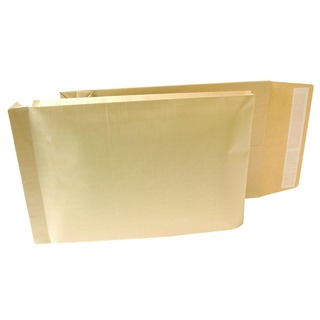 Armour 470 x 300 x 70mm Manilla 130gsm Peel and Seal Gusset Envelope (100 Pack)