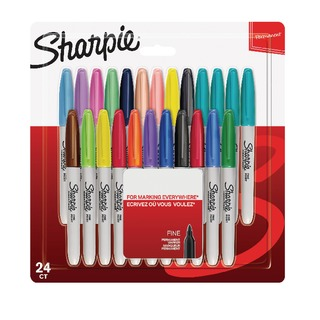 Assorted Pastel Fine Markers (24 Pack) 2065405