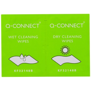 Wet and Dry Wipes (20 Pack)