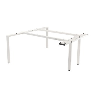White Bench 2 Person Extension Kit 1600mm