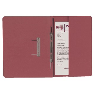 Red Foolscap Right Hand Pocket Spiral File (25 Pack) 211/9065Z