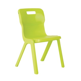 1 Piece 430mm Lime Chair (10 Pack)