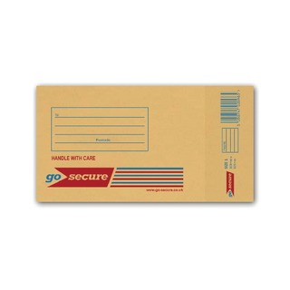 Bubble Lined Envelope Size 1 100x165mm Gold (100 Pack)