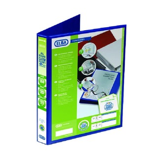 Panorama Blue A4 Plus 25mm 2 D-Ring Presentation Binder (6 Pack) 4000084