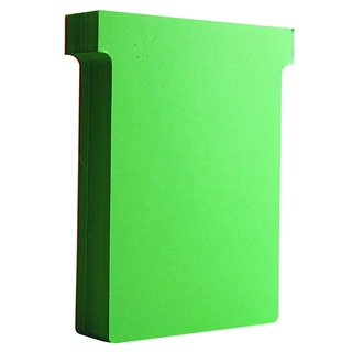 Size 3 Light Green T-Card (100 Pack) 32