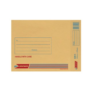 Bubble Lined Envelope Size 5 220x265mm Gold (20 Pack)