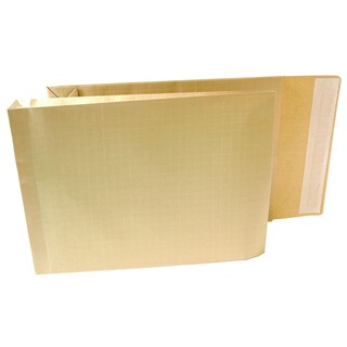 Armour 381 x 279 x 50mm Manilla Pl/Sl Gusset Envelope (100 Pack)