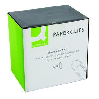 32mm No Tear Paperclip (1000 Pack)