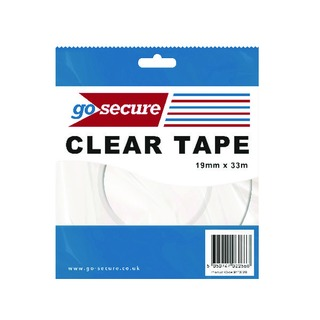 Secure Small Tape 19mmx33m (12 Pack)