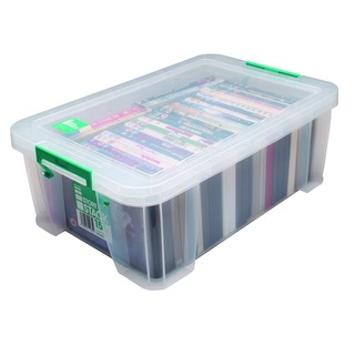 15 Litre Clear W300xD470xH170mm Store Box