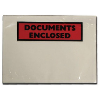Documents Enclosed Self-Adhesive DL Document Envelopes (Pk 100 Pack) 9743DLDE0