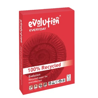 White Everyday A4 Recycled Paper 75gsm (2500 Pack) EVE2175