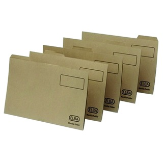 Foolscap Buff Midweight Tabbed Folder (100 Pack) 100090233