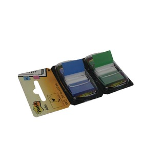 1 Inch Green and Blue (Pack 2x50) 680-GB2