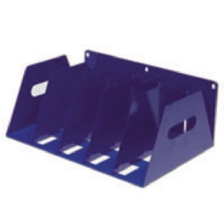 Blue 5 Section Lever Arch Filing Rack LAR5BLUE