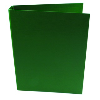 2 Ring 25mm Polypropylene Green A4 Binder (10 Pack)