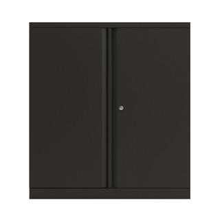 2 Door Cupboard Black 1016mm Empty KF
