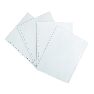 A4 5 Part 160gsm White Dividers 10020488