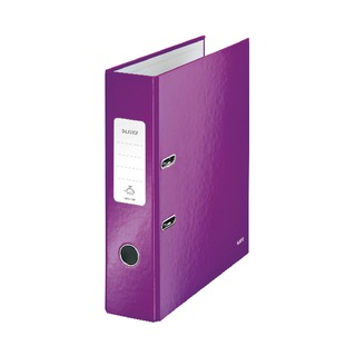180° WOW 80mm Purple A4 Lever Arch File (10 Pack) 1005006