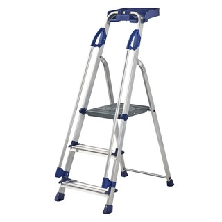 Blue Seal 3 Tread Professional Aluminium Step Ladder 7